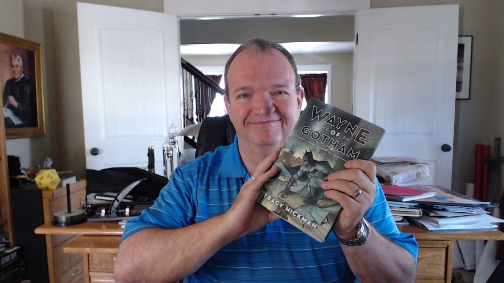 Tracy Hickman with newest book